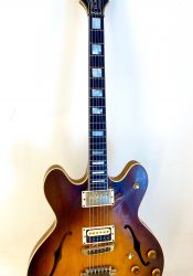 1980 Gibson ES 347- additional piezo pickup